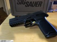 For Sale: Sig sauer p250 full size 9mm