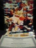 autographed Nick Anderson 8x10