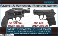 For Sale: Smith & Wesson Bodyguards at Special Low Prices