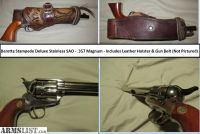 For Sale/Trade: Beretta Stampede Deluxe Stainless Single Action Only .357 Magnum Revolver