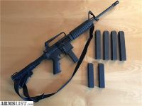 For Sale: Nice PRE BAN Colt 6450 AR-15 9MM AR15 7 Mags & Box