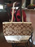 Authentic Coach Handbag Tote. 12 x 15 shows some wear. See pics...