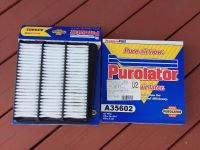 2 Purolator Air Filters A35602, fits various Hyundai, see list below. Price is for both.