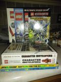 Lego and Star Wars books