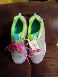 New Girl's Athletics Shoes Size 6