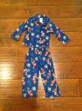 Mickey Mouse football flannel pajamas size 3T