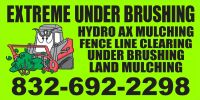 Under Brush Mulching & Land Clearing