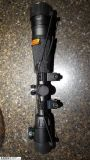 """For Sale: CENTERPOINT 4-16X40 AO RIFLE SCOPE, ILLUMINATED TAG-STYLE RETICLE, 1"""" TUBE"""