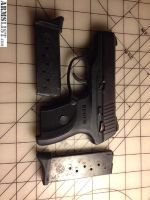 For Sale: Ruger LC9, black, 2 mags, functions perfectly, 9mmx19, 500 rounds fired, pistol handgun semi-auto