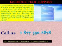 Upsurge your FB followers by obtaining Facebook Tech Support 1-877-350-8878