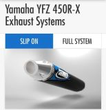 Sell Yamaha YFZ 450R-X 2009-2016 HMF Comp Slip On ELLIPTICAL Exhaust + EFI Optimizer motorcycle in Parkman, Ohio, United States, for US $515.95