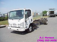 2013 Isuzu 20 ft Cab and Chassis