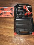 Black & Decker Firestorm drill with drill bits case and battery (no charger)