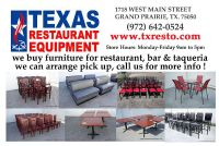 $1,000, HAVE ANY Tables, booths and chairs
