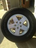 2012 Jeep Wrangler Rims and Tires