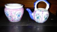 Made in japan mini teapot and planter