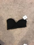 Urban Outfitters Black Bandeau