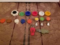 Vintage bottle openers,stoppers and kids total 16