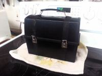 Vintage lunch box! Very masculine. Thermos held in upper compartment. See comments for more pics.