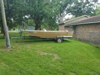 1978 17ft alweld deep and wide with trailer