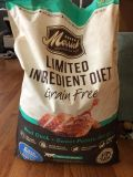 Brand new 22 lb bag - 6 servings are all I used.