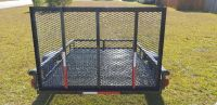 5x8 Mesh Heavy Duty Utility Trailer With Ramp