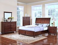 SALE! UPSCALE SOLID WOOD QUEEN STORAGE BED SET! BRAND NEW!