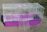 Cage for guinea pig or rabbit