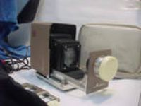 Vintage MINOLTA Mini Portable Film Projector 35mm w/