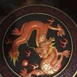 Dragon Medallion Wall Art
