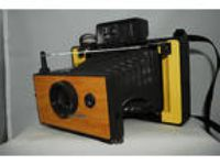 Polaroid Automatic 104 beautiful custom yellow
