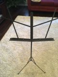 Music stand. Collapsible.