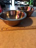TWO small pet dishes