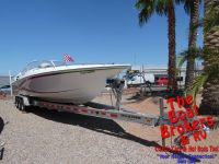 2004 FOUNTAIN 35' LIGHTNING CLOSED BOW BOAT