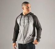 Find New Kawasaki Outline Grey Hooded Hoodie Sweatshirt Light Weight Mens Large LG motorcycle in Chaplin, Connecticut, US, for US $44.95