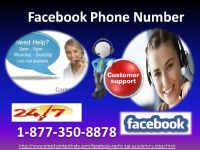 Why To Use Facebook Phone Number 1-877-350-8878?