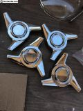 3 prong spinners chrome qty. 4