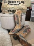 Corral Saddle Boots