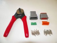 Find GRAY Deutsch DT 12X connector kit with solid terminal crimper tool MALE FEMALE motorcycle in Salisbury, Massachusetts, United States, for US $62.95