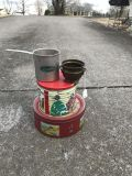 Two Tins, a Antique Bowl and a Cup! $12