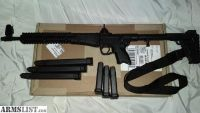 For Sale: Kel-Tec Sub 2000 Gen 2 9mm folding rifle, 6 mags, like new, uses Glock 9mm mags