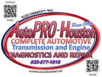 Mechanical and Electrical Repairs and Maintenance @ AutoPRO-Houston