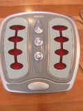 Homedics Homedics Foot Revitalizer Luxury Foot Massager With Infrared Heat (2 Settings - vibrate or vibrate and heat)