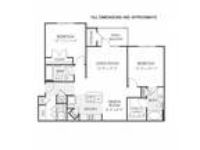 Clairmont at Hillandale - B1 (modified ADA floor plan)