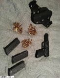 For Sale: FN Five-seveN 5.7mm pistol and holster
