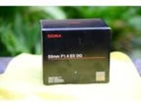 Sigma EX 50mm f/1.4 HSM DG EX Lens Nikon