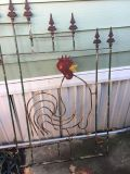 Yard art rooster