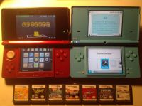 Nintendo 3DS, DSi and games