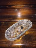 ANTIQUE LEAD CRYSTAL CANDY DISH