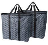 (Set of 2) CleverMade SnapBaskets - NEW